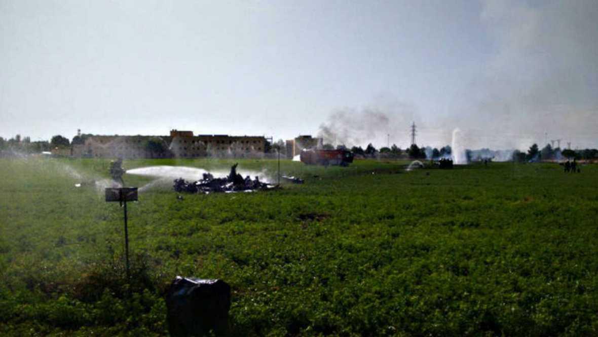 Diario de las 2 - Muere el piloto de un avión tras estrellarse en Albacete - Escuchar ahora