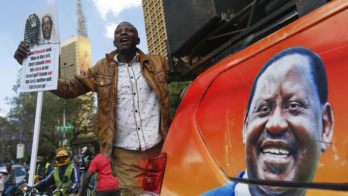 África hoy - Situación electoral en Kenia - 12/10/17 - escuchar ahora