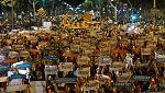 24 horas - El TC anula la ley de referéndum catalana mientras los independentistas protestan por la prisión para Jordi Sánchez y Jordi Cuixart