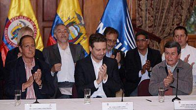 América hoy - Nueva fase de negociaciones entre el Gobierno colombiano y el ELN - 20/10/17 - escuchar ahora