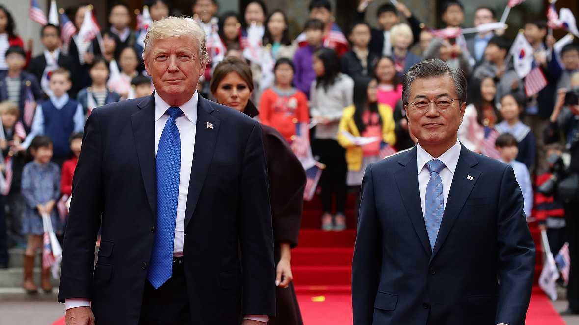 Asia hoy - Donald Trump en Corea del Sur - 07/11/17 - escuchar ahora