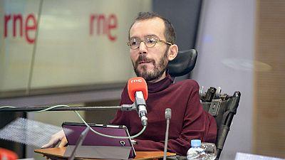 Las mañanas de RNE - Echenique (Podemos) insiste en pedir un referéndum pactado como solución para Cataluña - Escuchar ahora