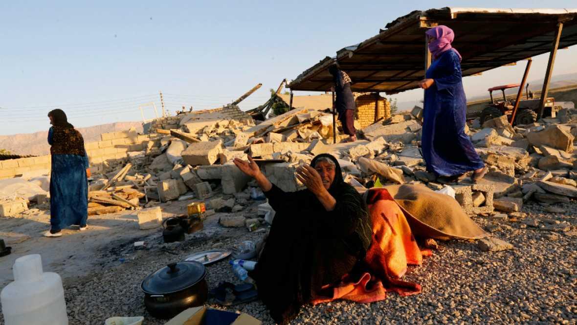 24 horas - Irán: 70.000 personas sin hogar por el terremoto - Escuchar ahora