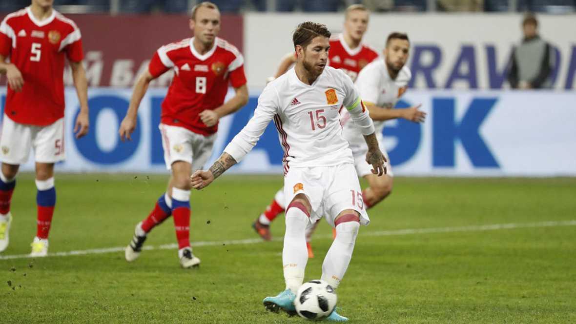 Tablero deportivo - Los goles del Rusia 3 España 3 - Escuchar ahora