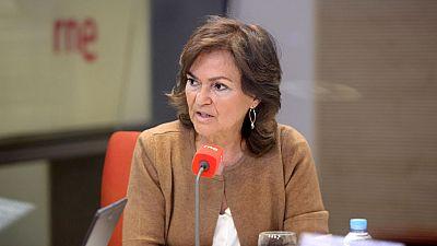 Las mañanas de RNE - Calvo (PSOE) pide huir del frentismo en Cataluña - Escuchar ahora