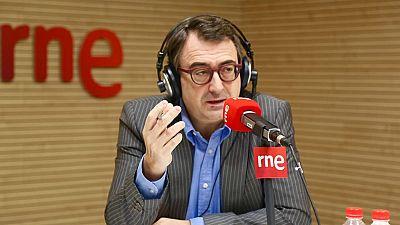 Las mañanas de RNE - Aitor Esteban (PNV) no ve motivos para acusar de rebelión o sedición a Puigdemont y sus exconsejeros - Escuchar ahora