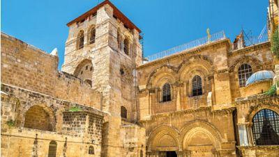 Marca España - Una empresa española participa en la restauración del Santo Sepulcro - escuchar ahora