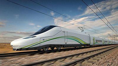 Marca España - AVE La Meca-Medina, infraestructura española, se probará a finales de año - 20/11/17 - escuchar ahora