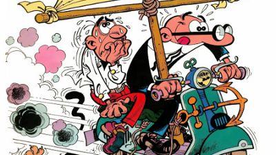 Marca España - Mortadelo y Filemón cumplen 60 años - escuchar ahora