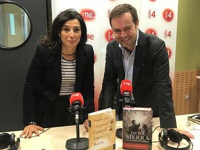 El matí a Ràdio 4 - Entrevista Javier Sierra i Cristina López Barrio (Premis Planeta 2017)