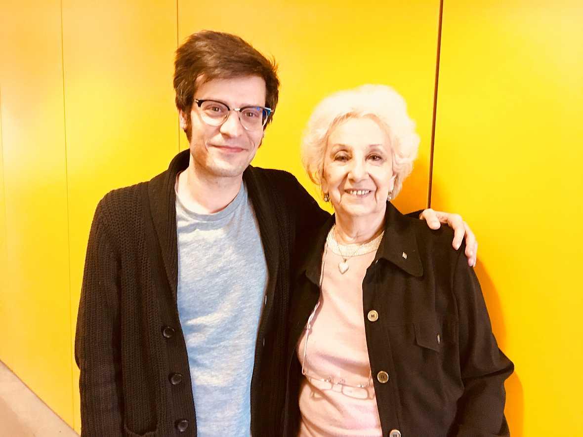 El matí a Ràdio 4 - Entrevista Estela de Carlotto