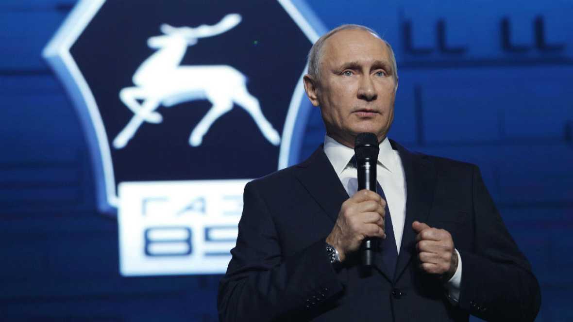 Radio 5 Actualidad - El presidente ruso Putin se presentará a la reelección - Escuchar ahora