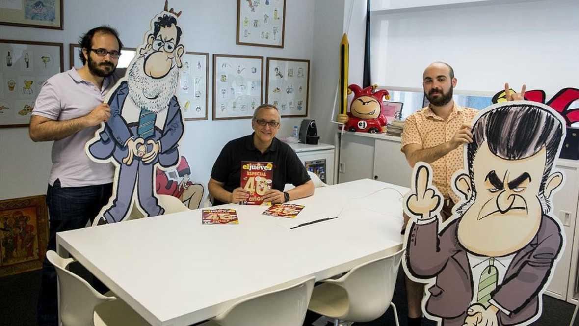 """Viñetas y bocadillos - """"El Jueves.40 años"""" - 10/12/17 - Escuchar ahora"""