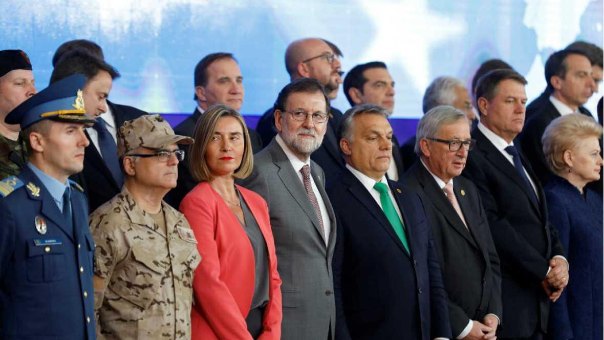 24 horas - Europa da luz verde a su política de defensa en el último Consejo del año - Escuchar ahora