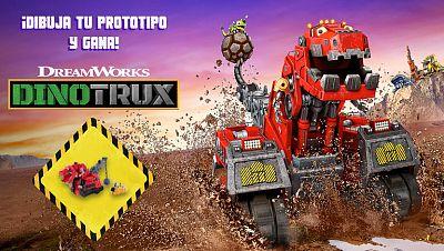 Concurso ¡Dibuja tu prototipo Dinotrux y gana!
