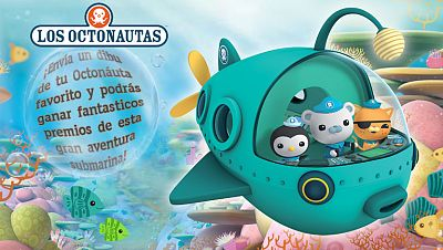 Concurso 'Octonautas...¡en acción!'