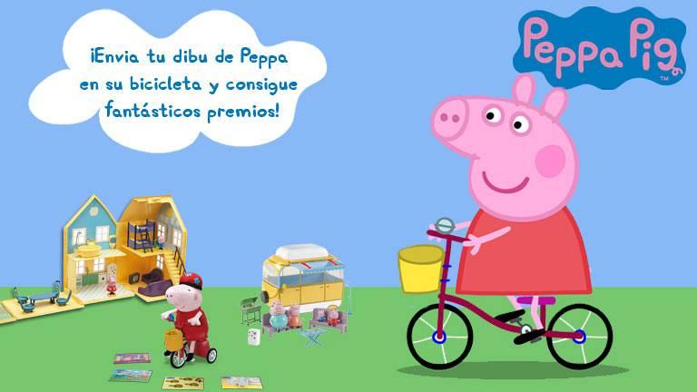 Concurso La bicicleta de Peppa Pig  Clan TV  RTVEes