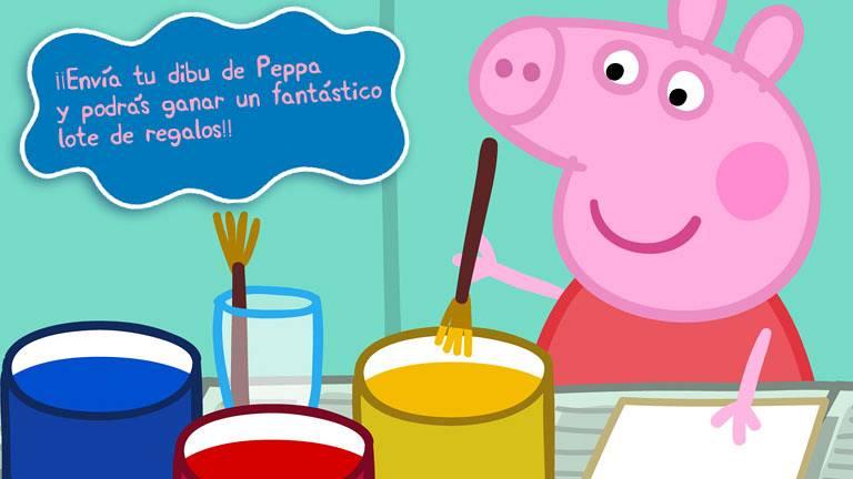 Pintar dibujos de peppa pig png pictures to pin on pinterest - Pin Dibujo De Peppa Pig De Los Dibujos Animados On Pinterest