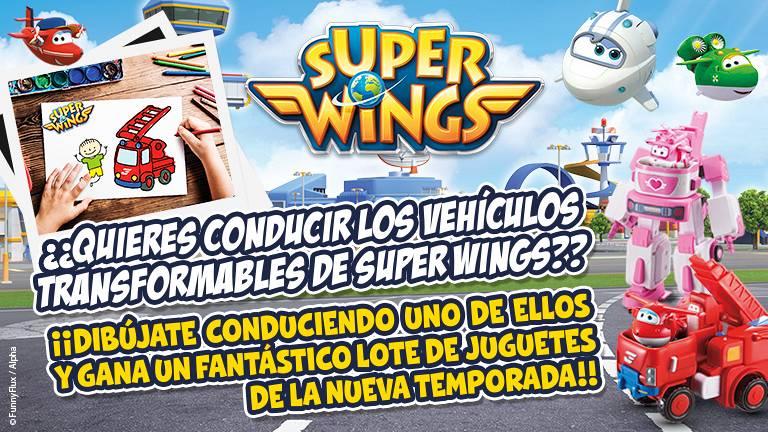 Concurso ¡Piloto Super Wings!