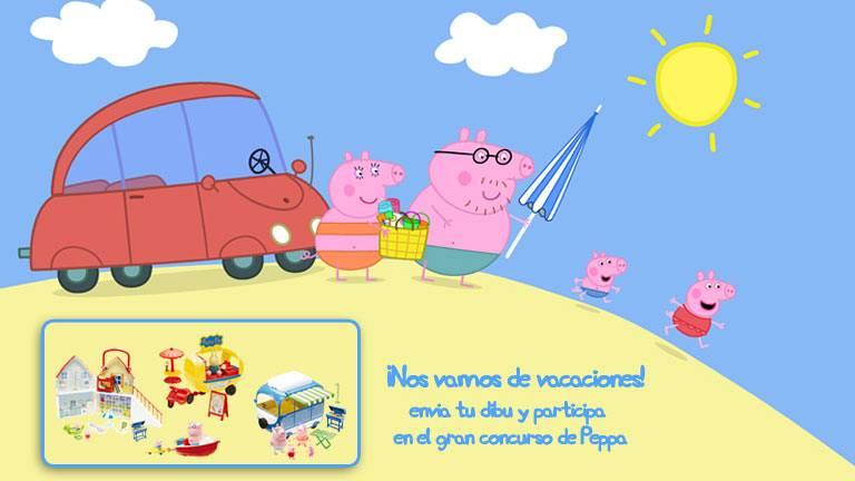 Concurso Las vacaciones de Peppa Pig  Clan TV  RTVEes