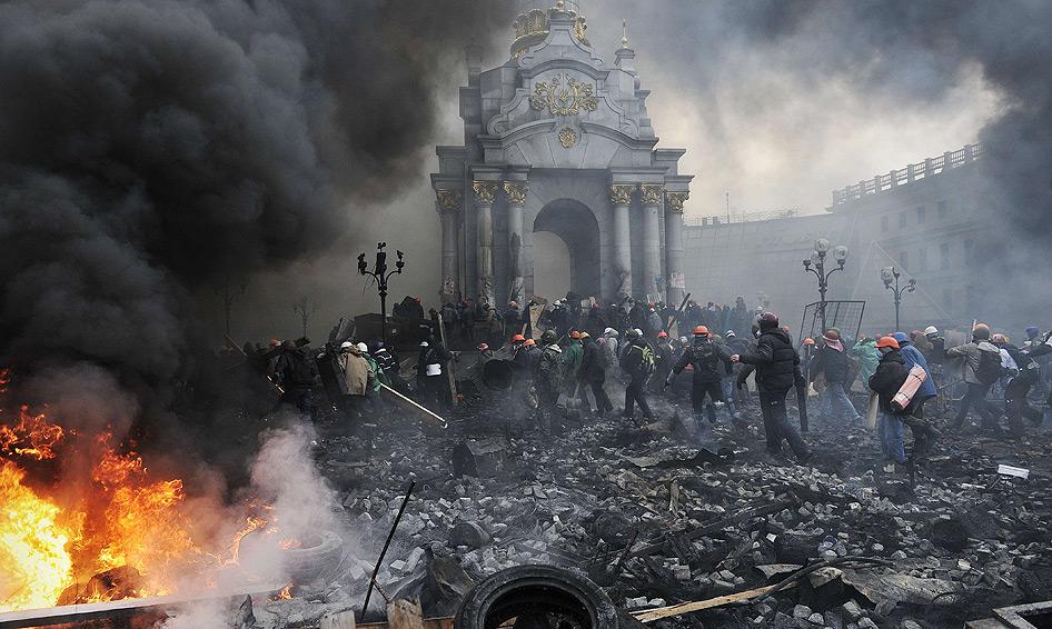 Guerra en el corazón de Europa