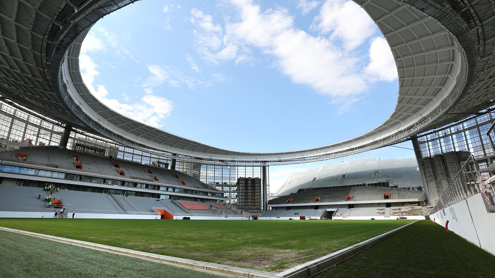 Sede Ekaterimburgo Arena