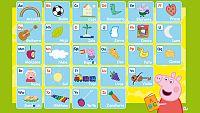 Este verano...¡aprende el alfabeto con Peppa!