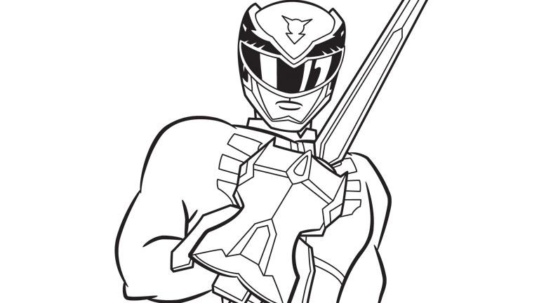 Espadas De Power Rangers Para Colorear | www.imagenesmy.com