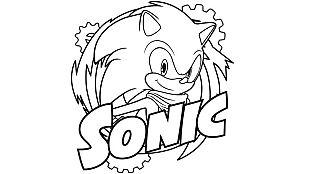 Descargable Colorea a Sonic