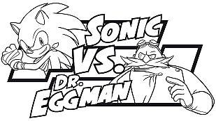 Descargable Colorea a Sonic vs Dr. Eggman