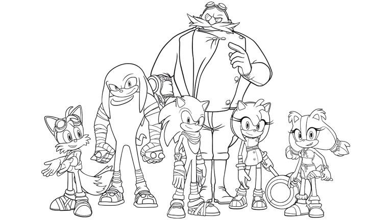 Dibujos De Sonic Para Imprimir Y Colorear: Dibujos De Sonic Para Imprimir Y Colorear