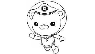 Descargable Colorea al Capitán Polo Polar