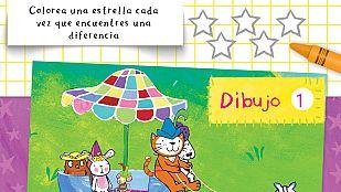 Descargable La gata Lupe y las 5 diferencias