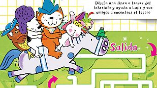Descargable El laberinto del tesoro de la gata Lupe
