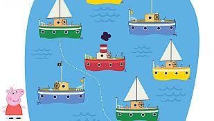 Descargable Empareja los barcos con Peppa