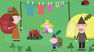Descargable Ben y Holly e enseñan a prevenir incendios