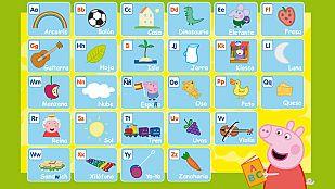 Descargable Este verano...¡aprende el alfabeto con Peppa!