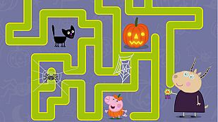 Descargable El laberinto de Halloween de Peppa Pig