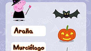 Descargable Las palabras de Halloween de Peppa