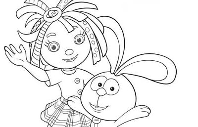 everythings rosie coloring book pages - photo#16