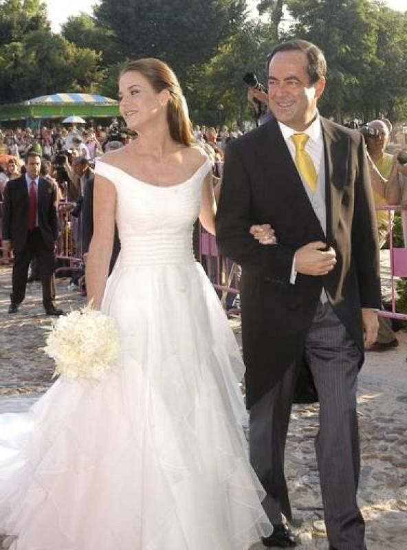 José Bono y su hija Amelia Bono