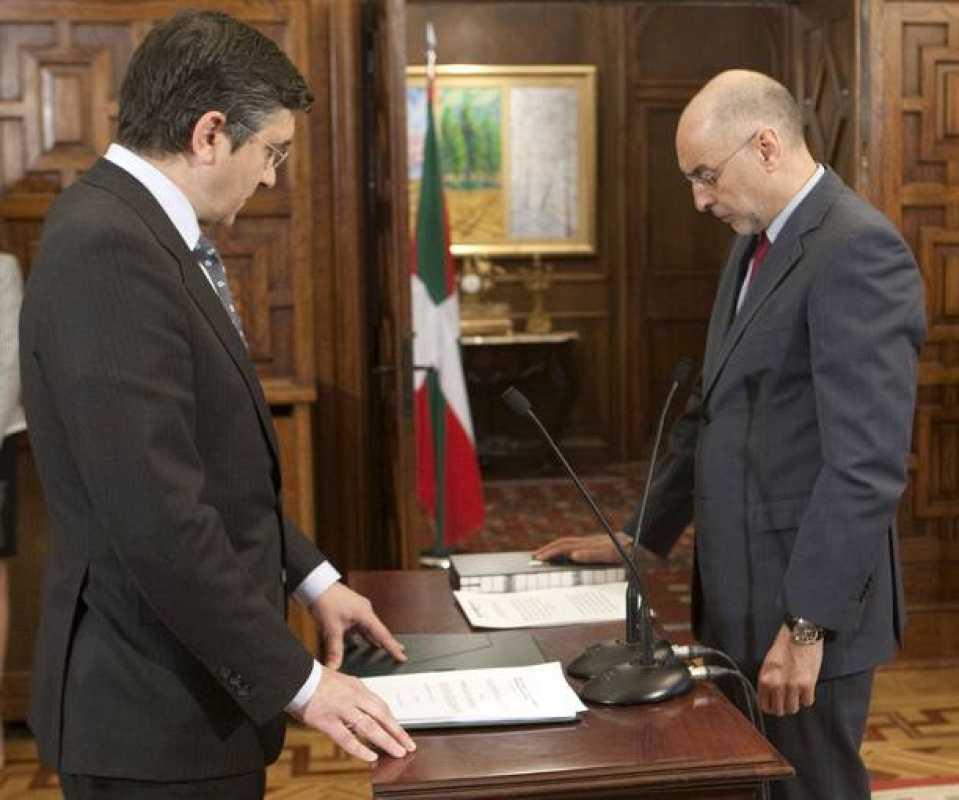 El gobierno vasco toma posesi n 1 - Departamento de interior del gobierno vasco ...