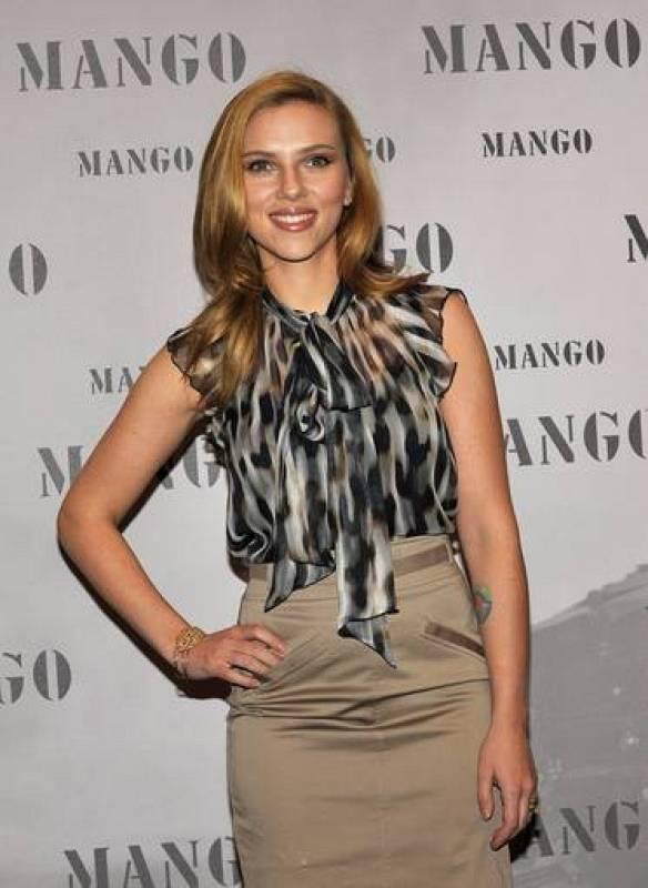 Scarlett Johansson, rostro de Mango