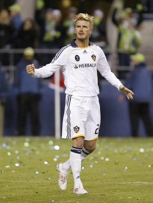David Beckham jugará a partir de enero en el Milan.