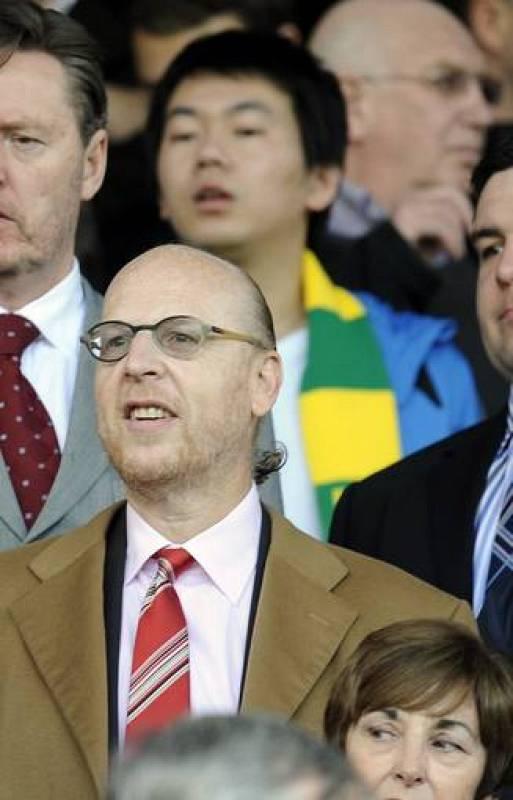 Avram Glazer uno de los hermanos propietarios del Manchester United.