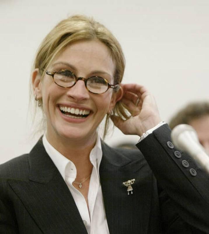 Julia Roberts, en el Congreso de EE.UU., pidiendo más fondos para luchar contra el síndrome RETT.