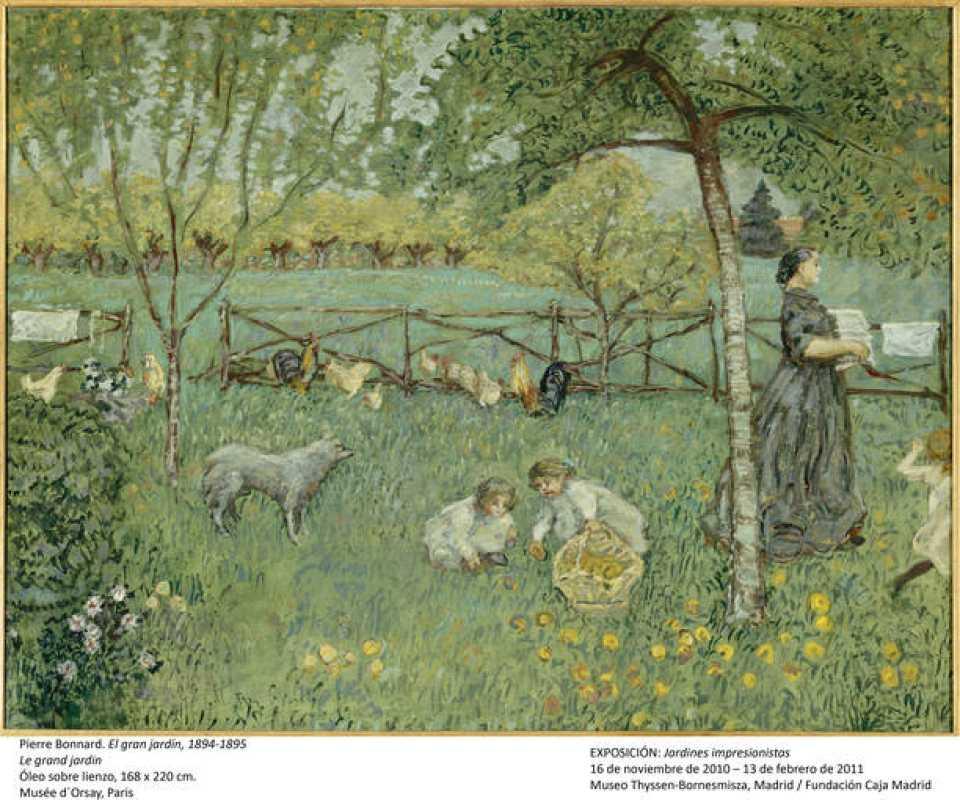 Los jardines de los impresionistas 10 for Los jardines de arbesu