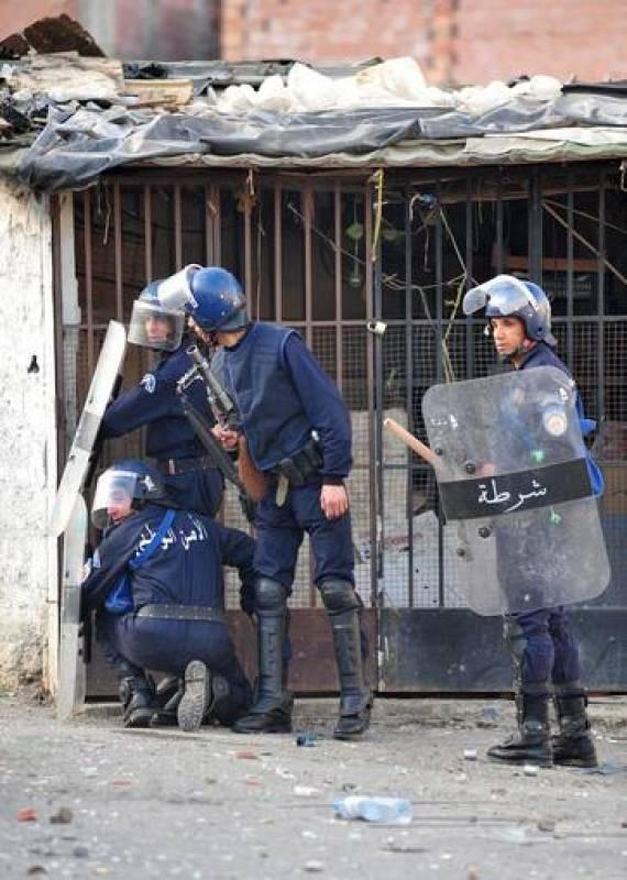 PROTESTAS EN ORAN