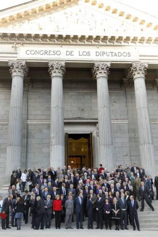 ACTO CELEBRADO EN EL CONGRESO CON MOTIVO DEL 30 ANIVERSARIO DEL INTENTO DE GOLPE DE ESTADO DEL 23-F