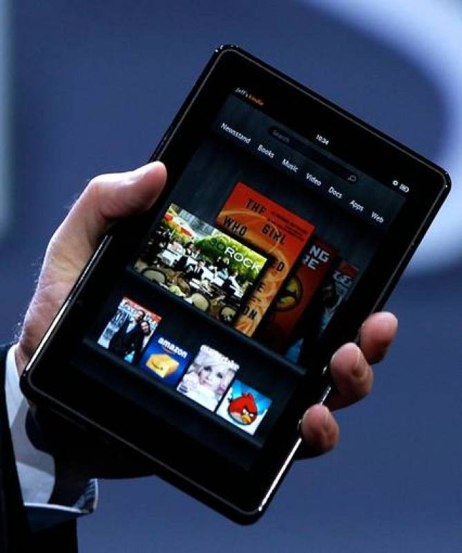 El Kindle Fire es el primer 'tablet' de Amazon